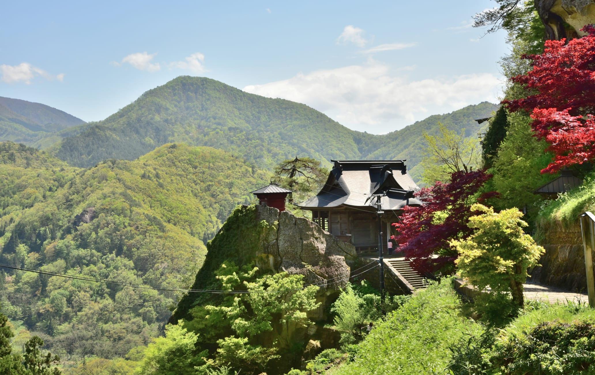 risshaku-ji temple -yama-dera temple