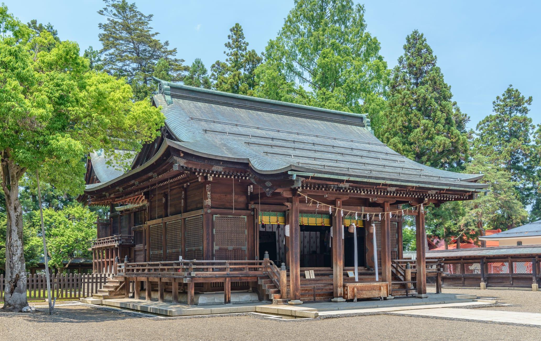 Uesugi-Jinja Shrine