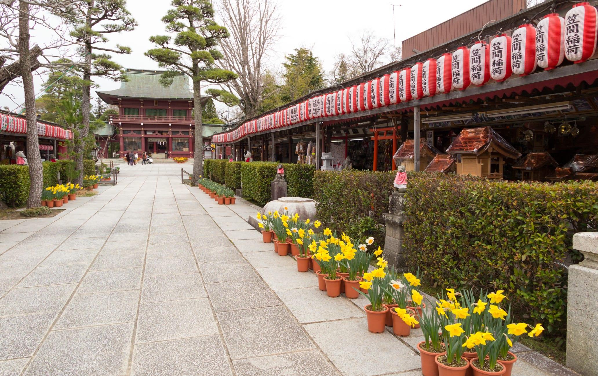 Kasama Inari-jinja Shrine