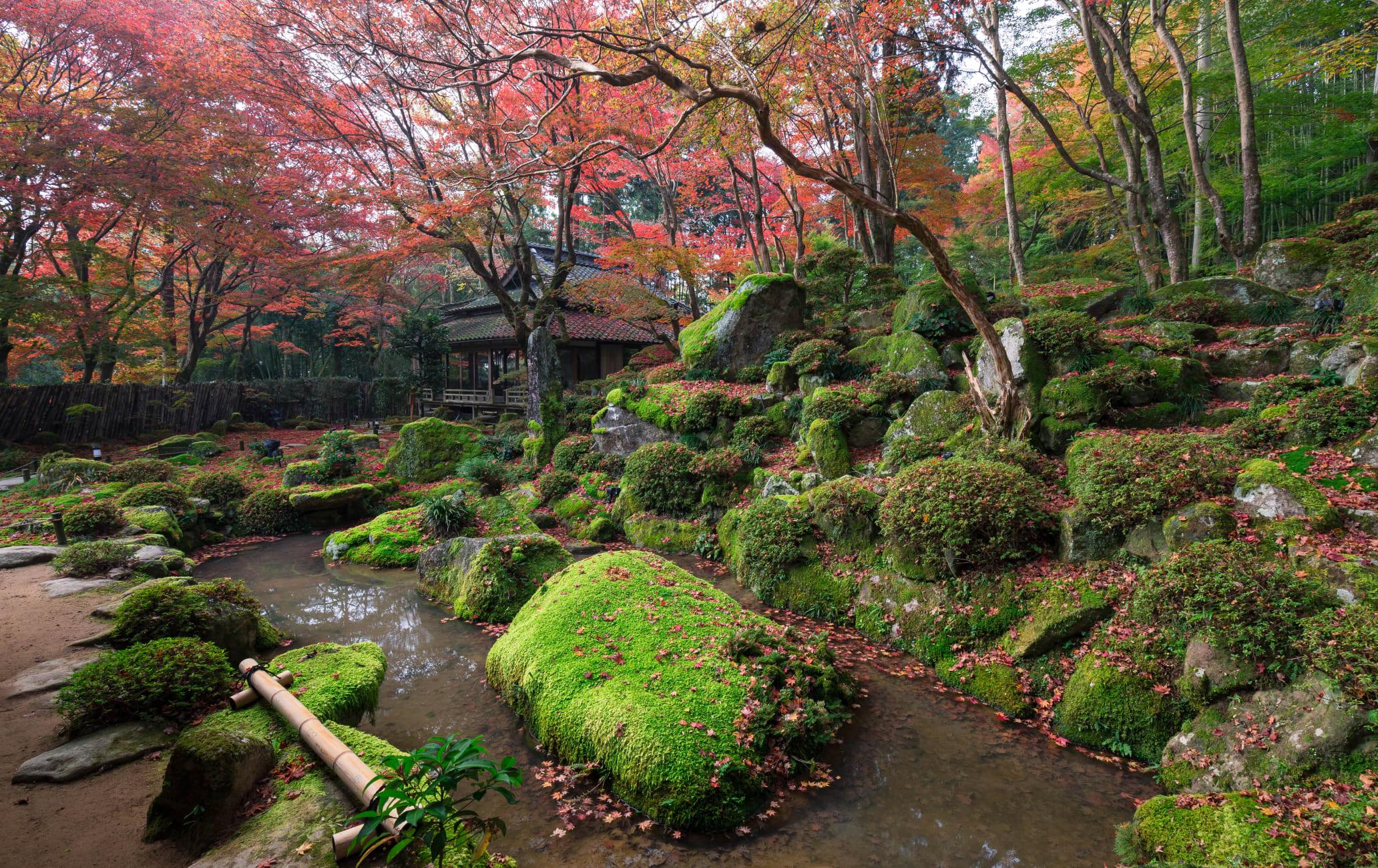 shiga-in-teien garden