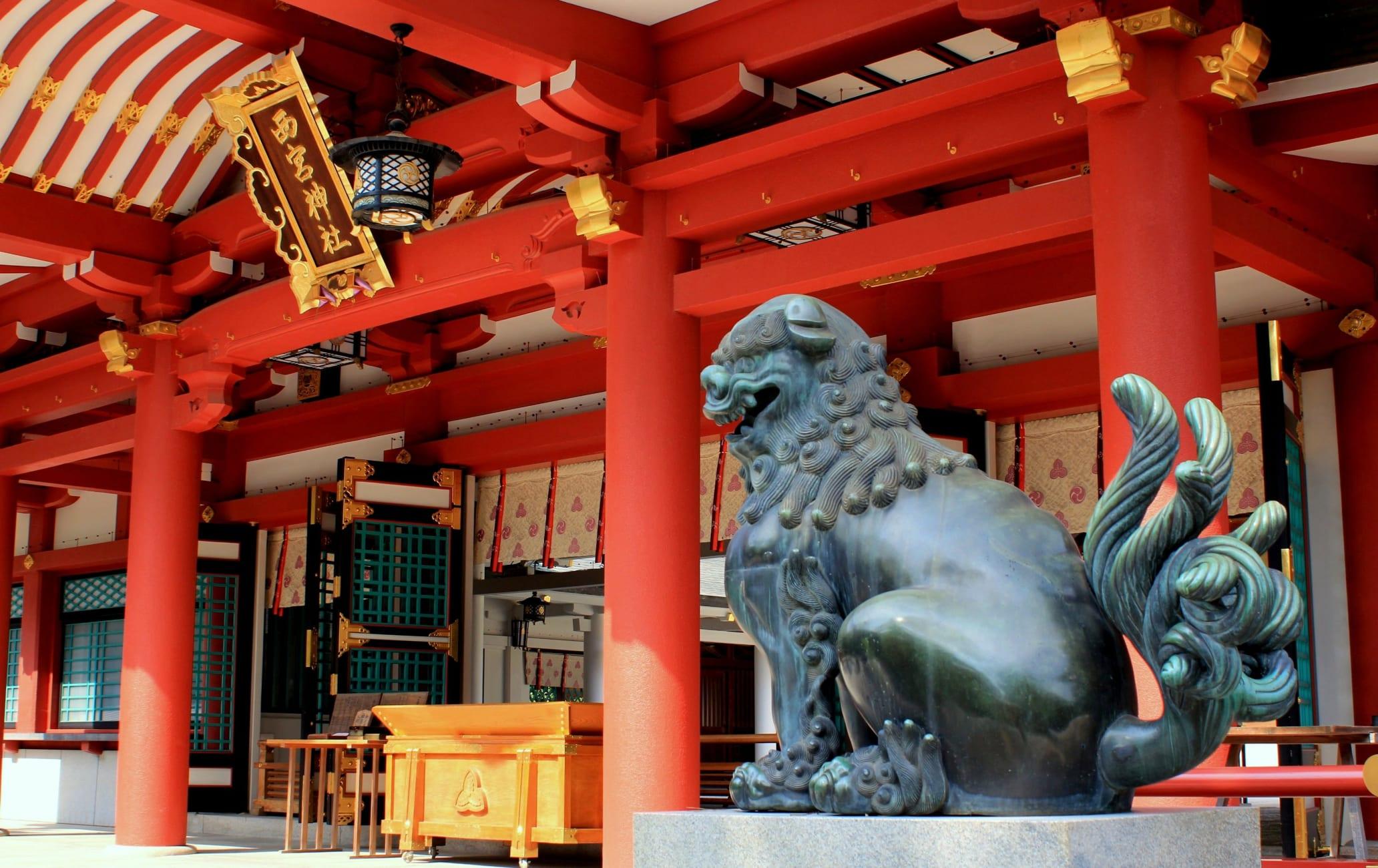 Nishinomiya-jinja Shrine -Nishinomiya Ebisu-san