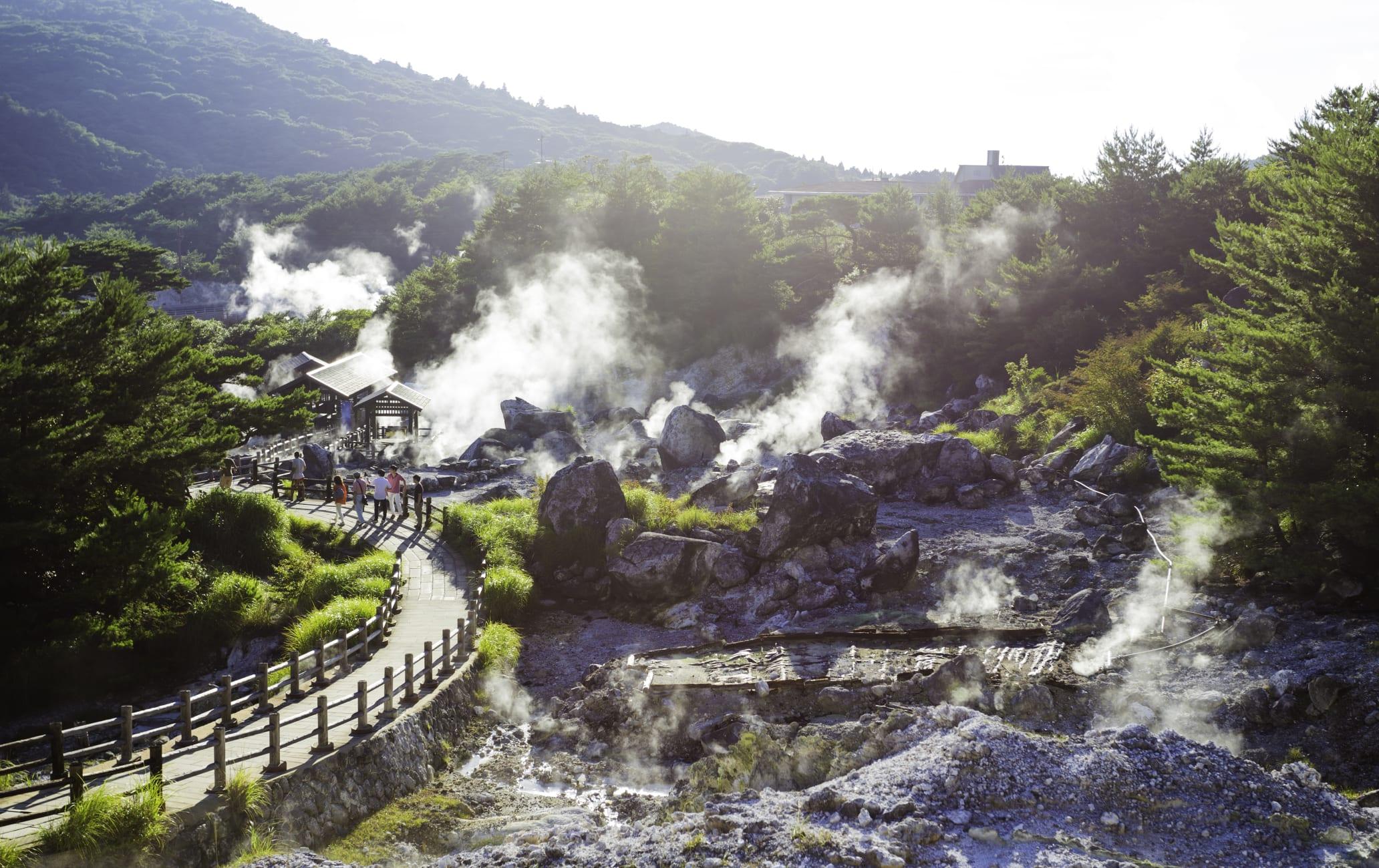 Unzen-onsen Hot Spring