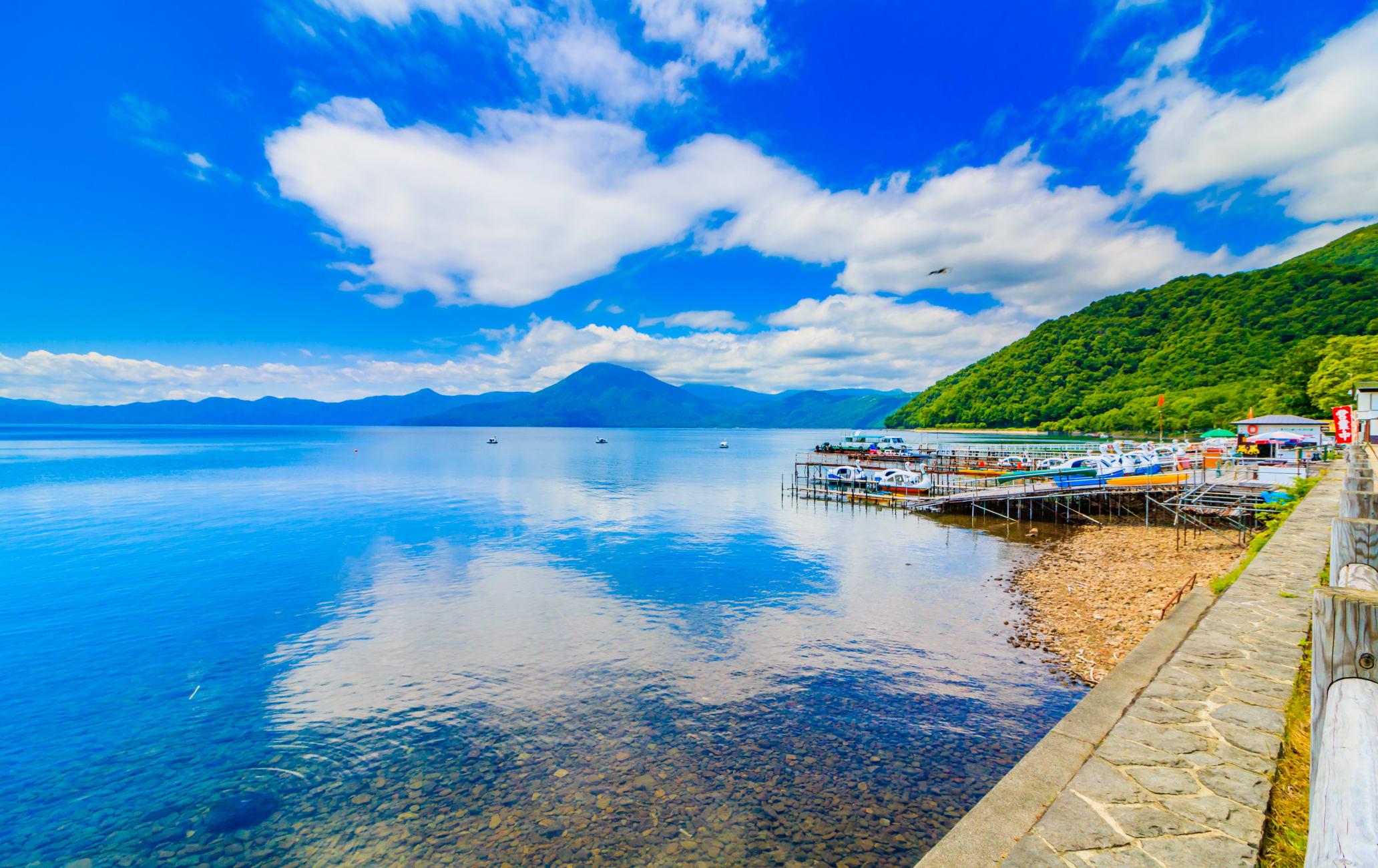 Lake Shikotsu Area