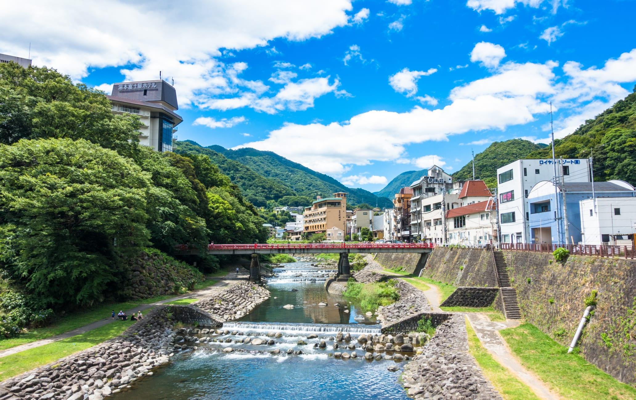 Hakone Yumoto-onsen Hot Spring