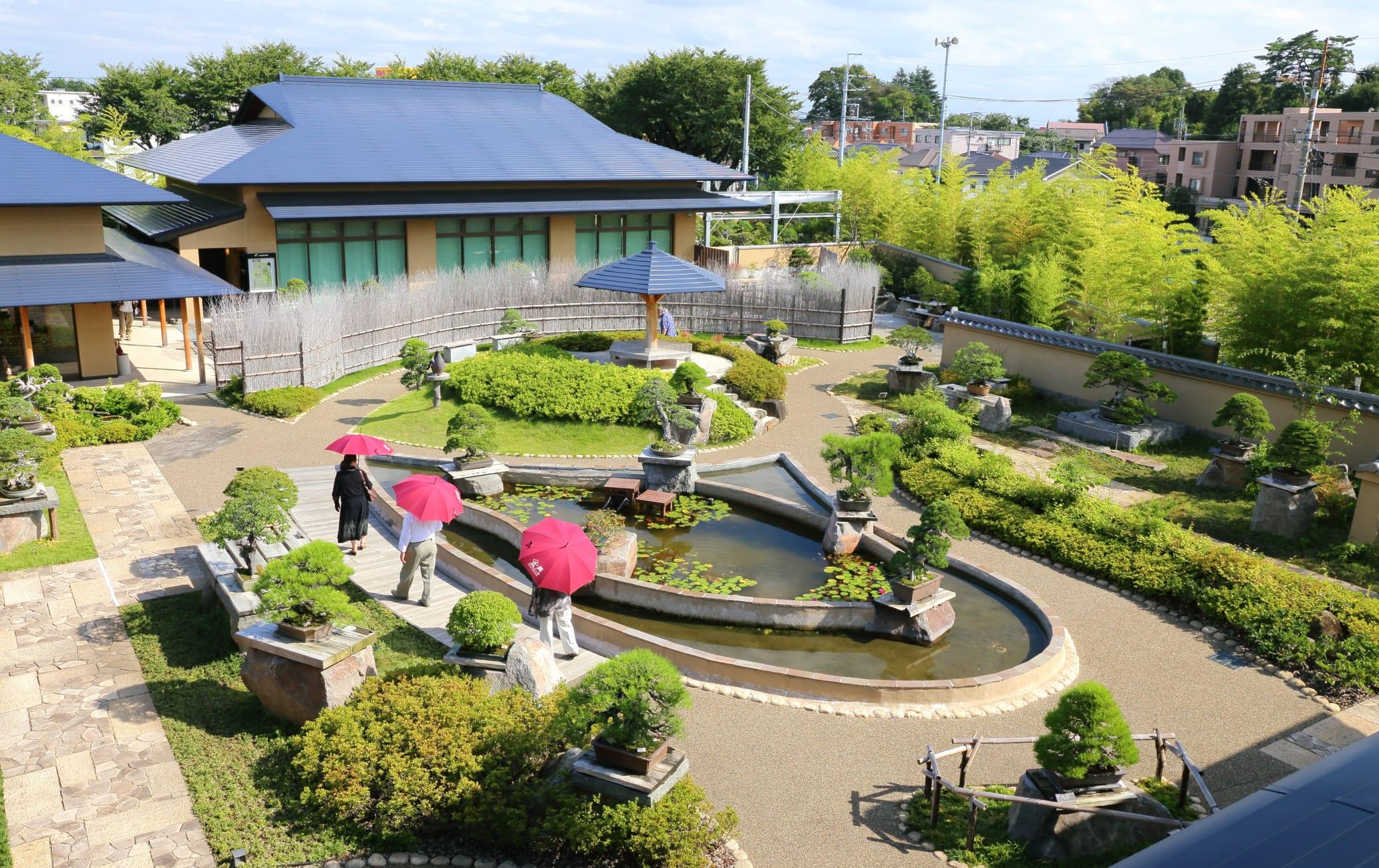The Omiya Bonsai Art Museum