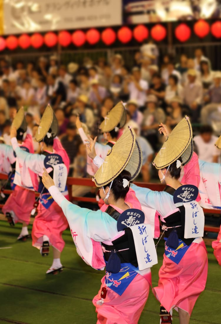 Awa-Odori Folk Dance Festival in Tokushima-SUM