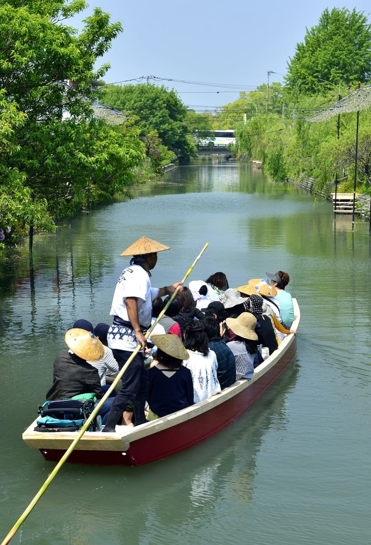 Yanagawa River rapids ride
