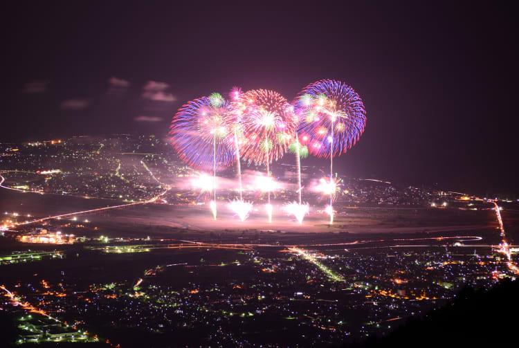 Shinmei Fireworks Extravaganza in Ichikawa Misato