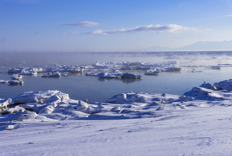 Ryuhyo drift ice