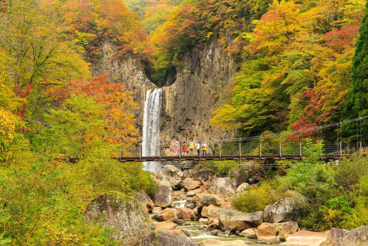 myoko highland naena falls trekking course