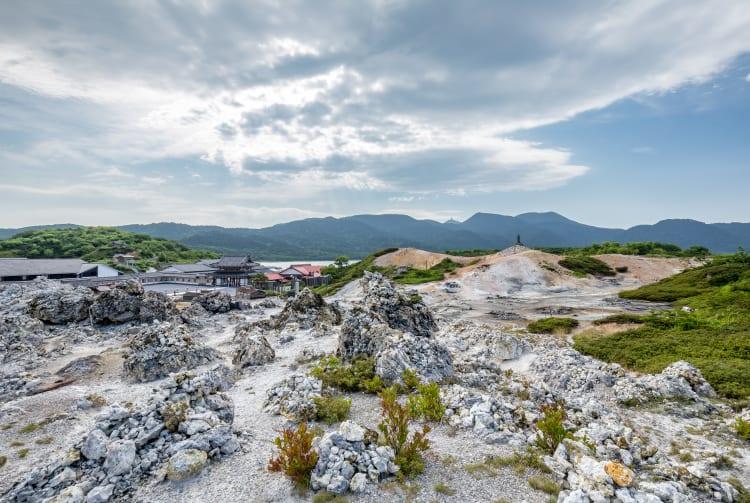 Mt Osorezan