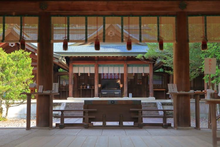 Yoshino-jingu Shrine