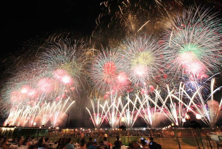 Nagaoka fire works festival-SUM