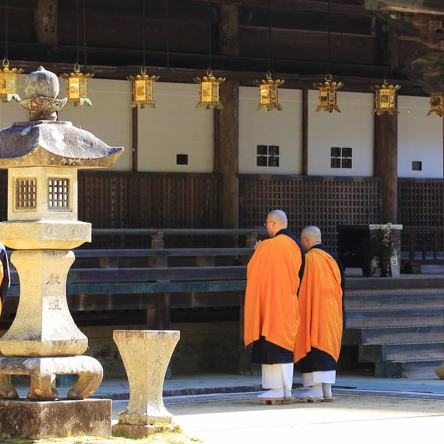 Spirituality in the Mountains of Koyasan