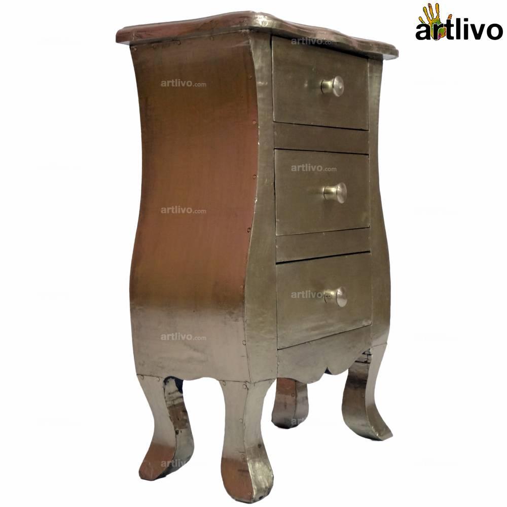 BLING Silver 3-Drawer Box