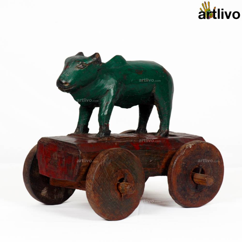 VINTAGE Nandi Bull Cart - ST020
