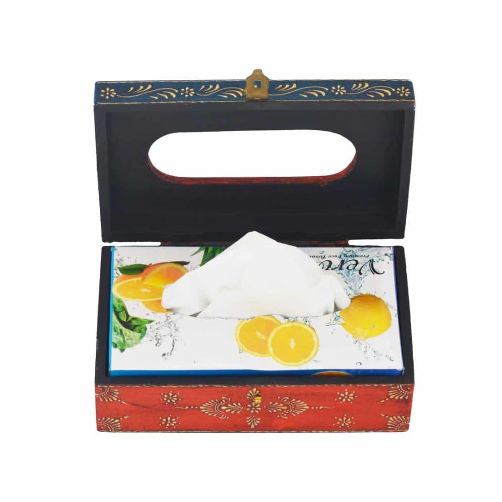 Orange Tissue Box