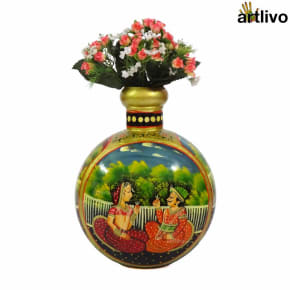 POPART Mughal Tradition Decorative Vase