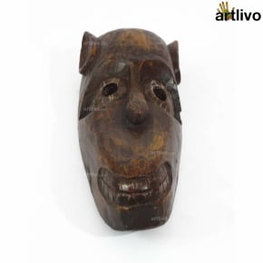 VINTAGE Tribal Animal Mask - Monkey