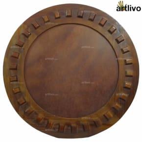 MERLOT Round Mirror