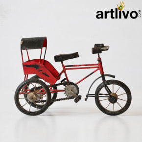 Decorative cycle riksha