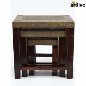 Honey Elegant Nested Tables