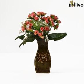 EMBOSSED Unicorn Flower Vase