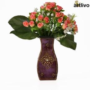 EMBOSSED Swan Flower Vase
