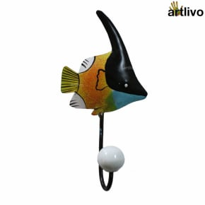 POPART Metal Fish Hook - Orange