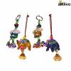 POPART Combo of Ganesha Key Chain and elephant Hanging - Set of 4