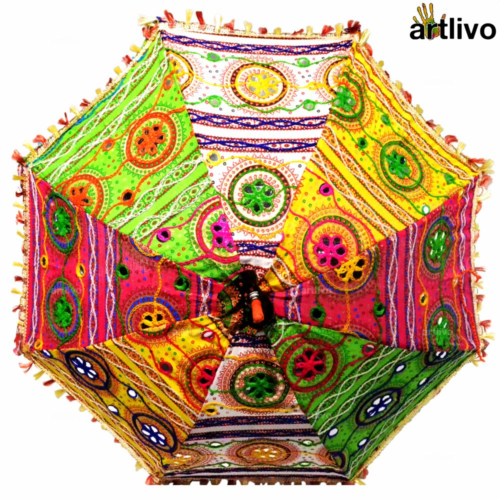 POPART Assorted Decorative Sun Umbrella 25*32 Inch