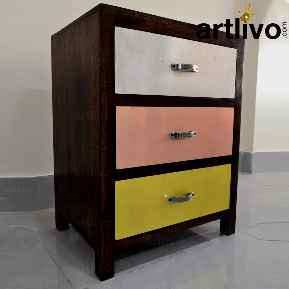 Popart Bed Side Table