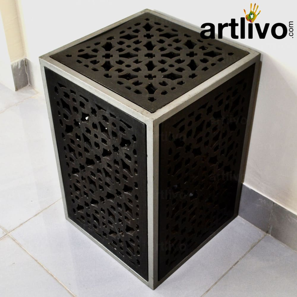 Wooden Gril Stool Small