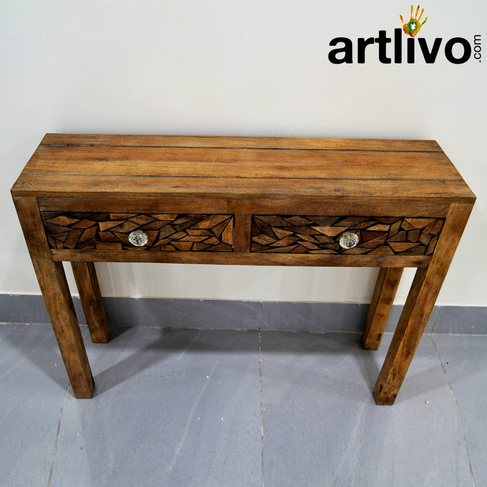 Wooden Maze Table
