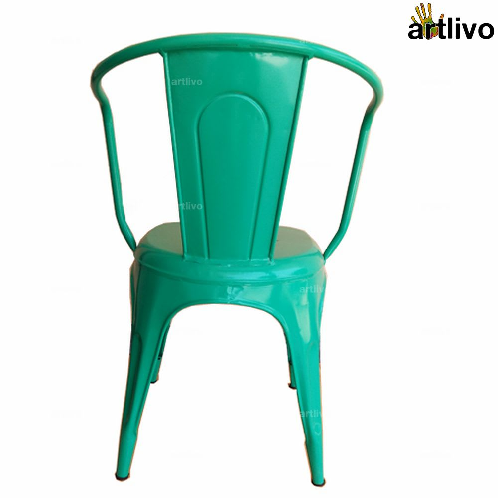POPART French Green Arm Chair
