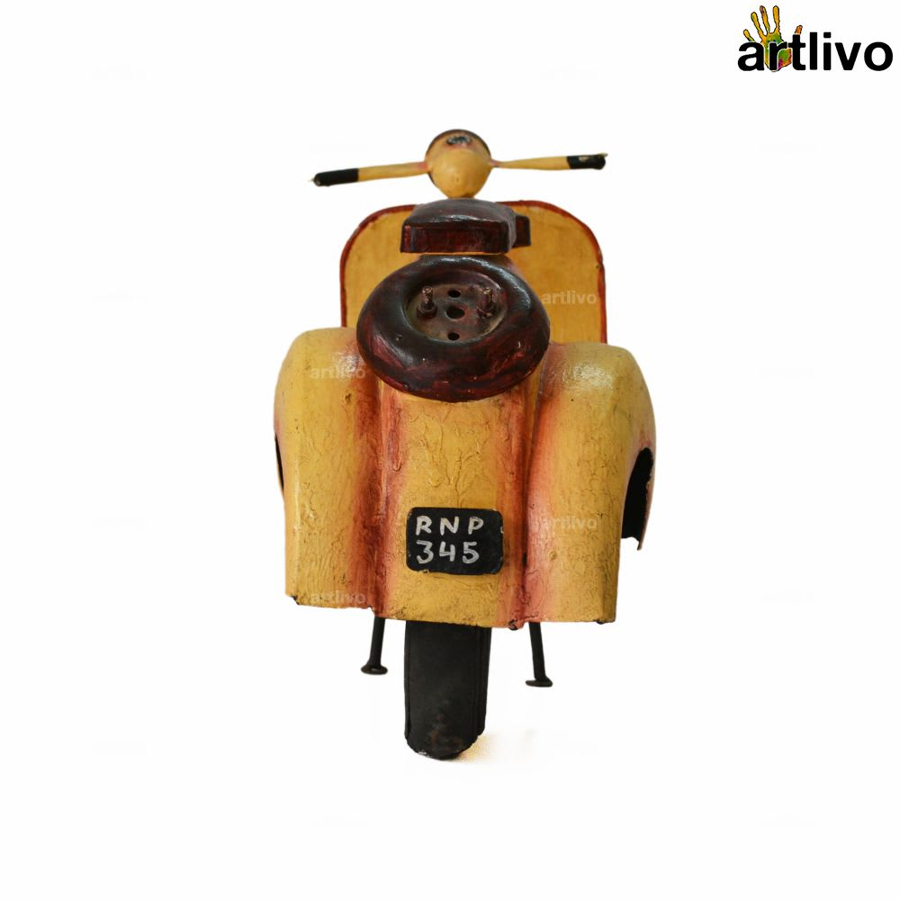 POPART Nineties Scooter - Mustard
