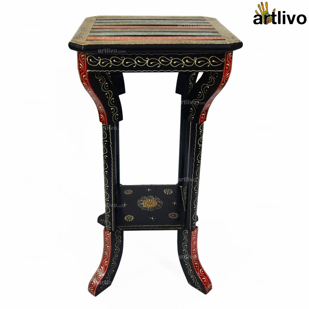 Turkish Side Table Multicolored- Large