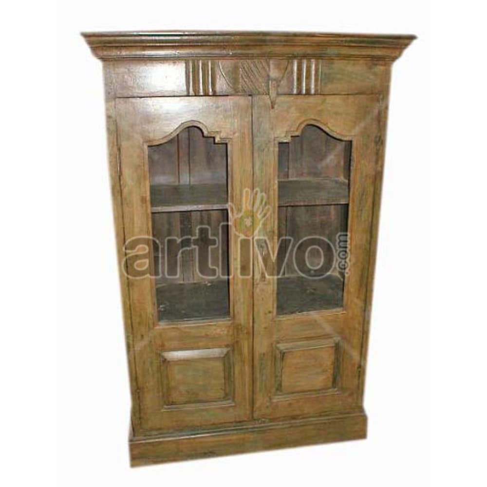 Antique Indian Beautiful noble Solid Wooden Teak Almirah
