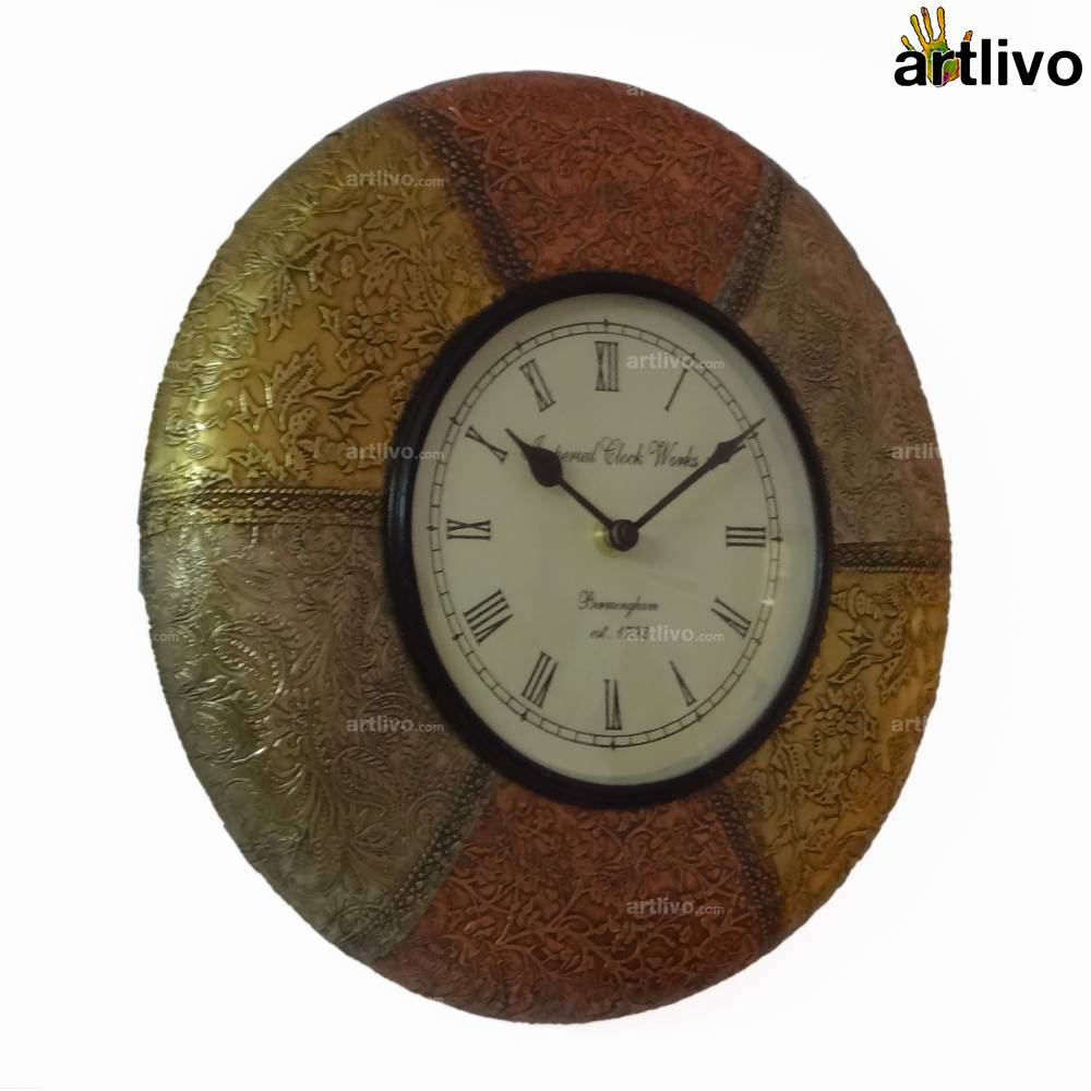 FUSION Shield Wall Clock