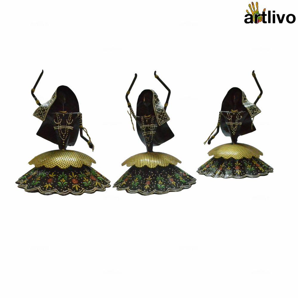 POPART Decorative Kalbelia Dancers - Set of 3