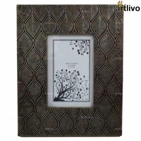 BLING Leaves Photo Frame