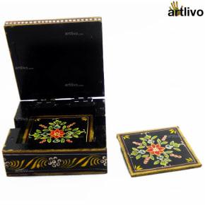Mughal Garden Coaster Set