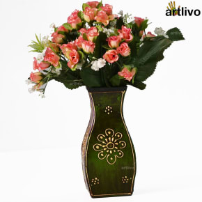 EMBOSSED Pelican Flower Vase