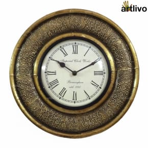 BLING Wall Clock 12""