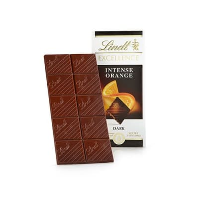 Intense Orange Chocolate fra Lindt Excellence. 100 gram