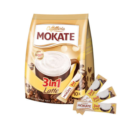 Mokate 3-in-1 Latte