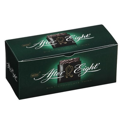 After Eight Mint Chocolate Thins von Nestle. 200 gramm