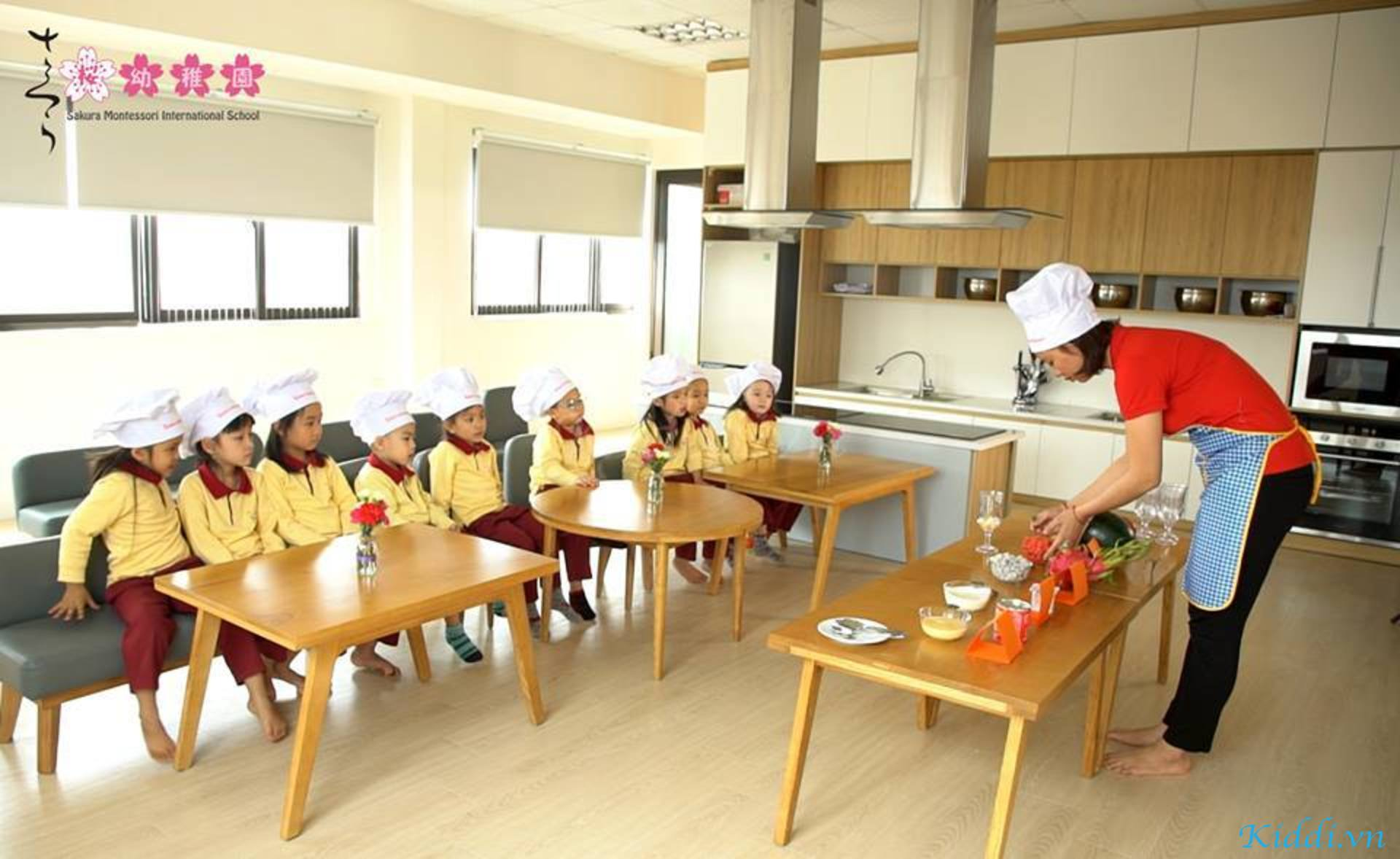 Kết quả hình ảnh cho SAKURA MONTESSORI INTERNATIONAL SCHOOL