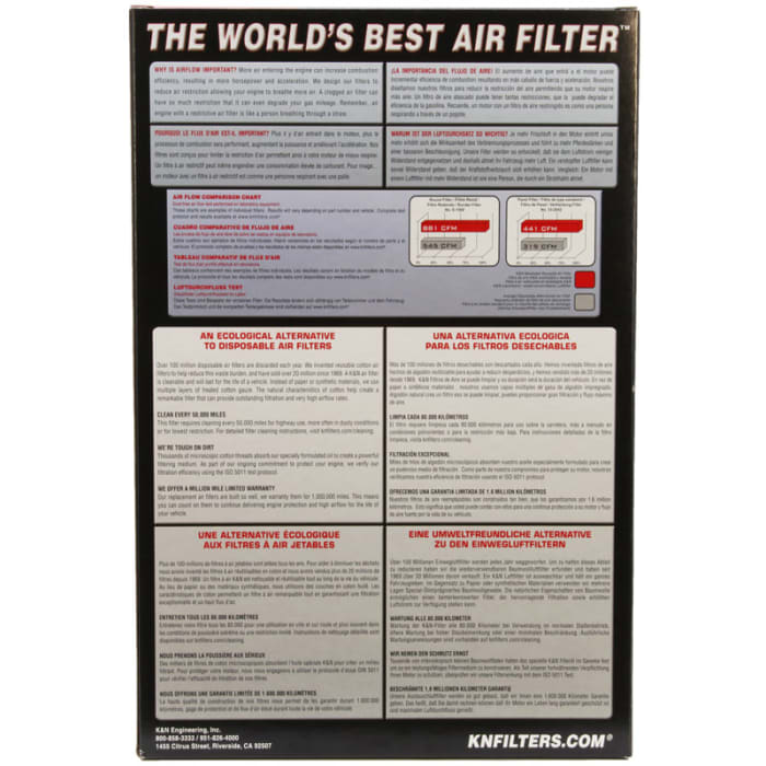 K/&N 33-5084 R Replacement Air Filter