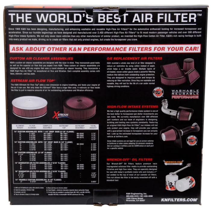 K/&N 57-3028 Performance Air Intake System